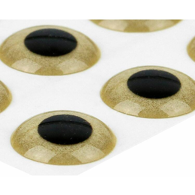 Sybai 3D Epoxy Eyes - Sand Gold