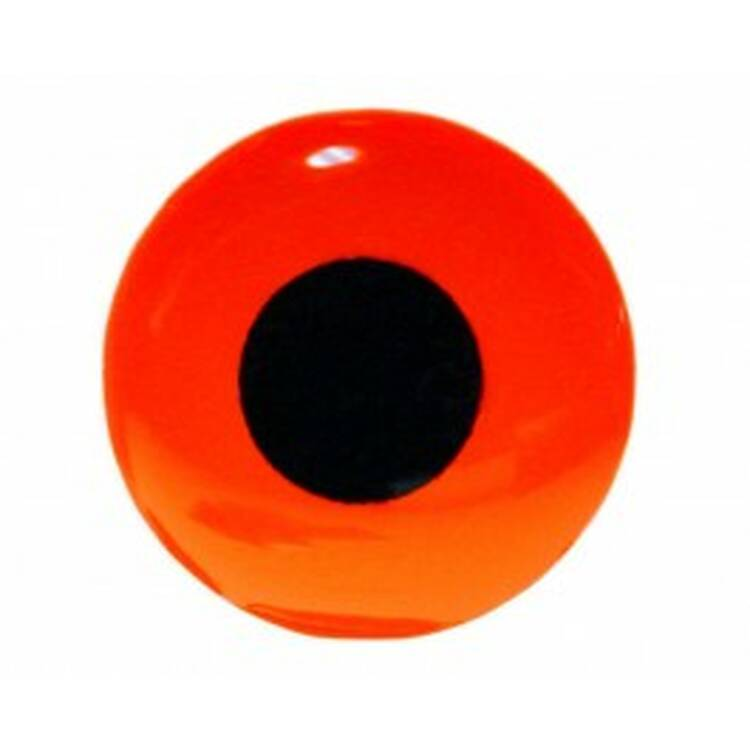 Sybai 3D Epoxy Eyes 9 mm - Fluo Red