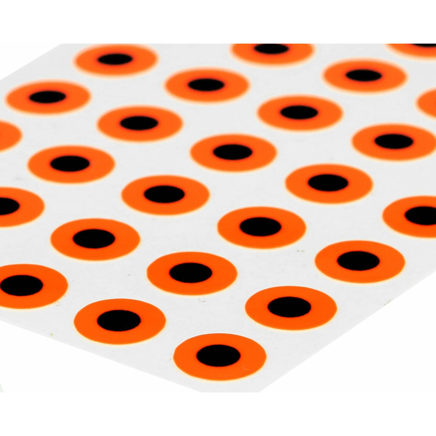 Sybai 3D Epoxy Eyes 9 mm - Fluo Orange