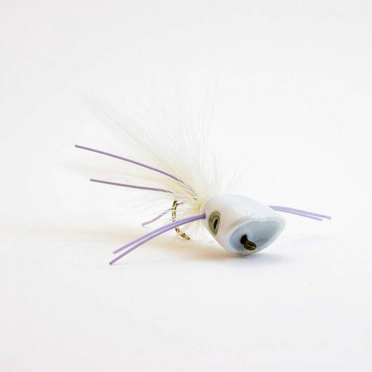 Fish Skull Surface Seducer Double Barrel Popper Köpfe - XL