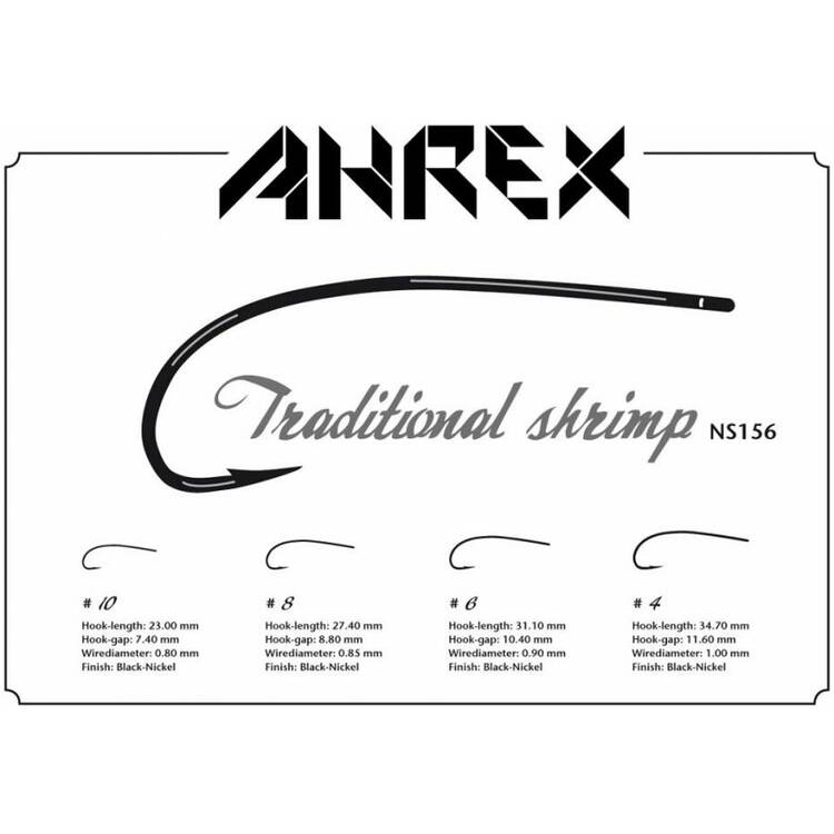 AHREX NS156 Haken  Traditional Shrimp