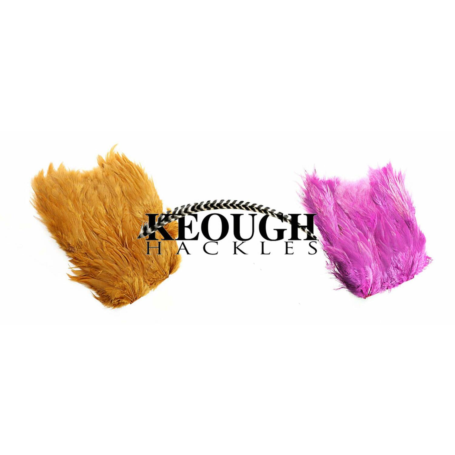 Keough Soft Hackle Patches Capes